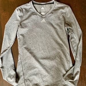 adidas Long Sleeve Work Out Shirt